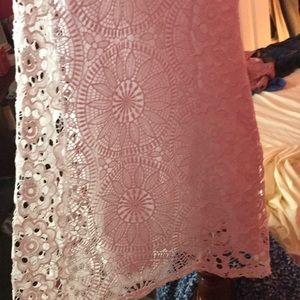Francesca's Collections Dresses - White lace dress